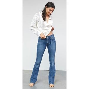 Citizens of Humanity Low Rise Distress Flare Jean